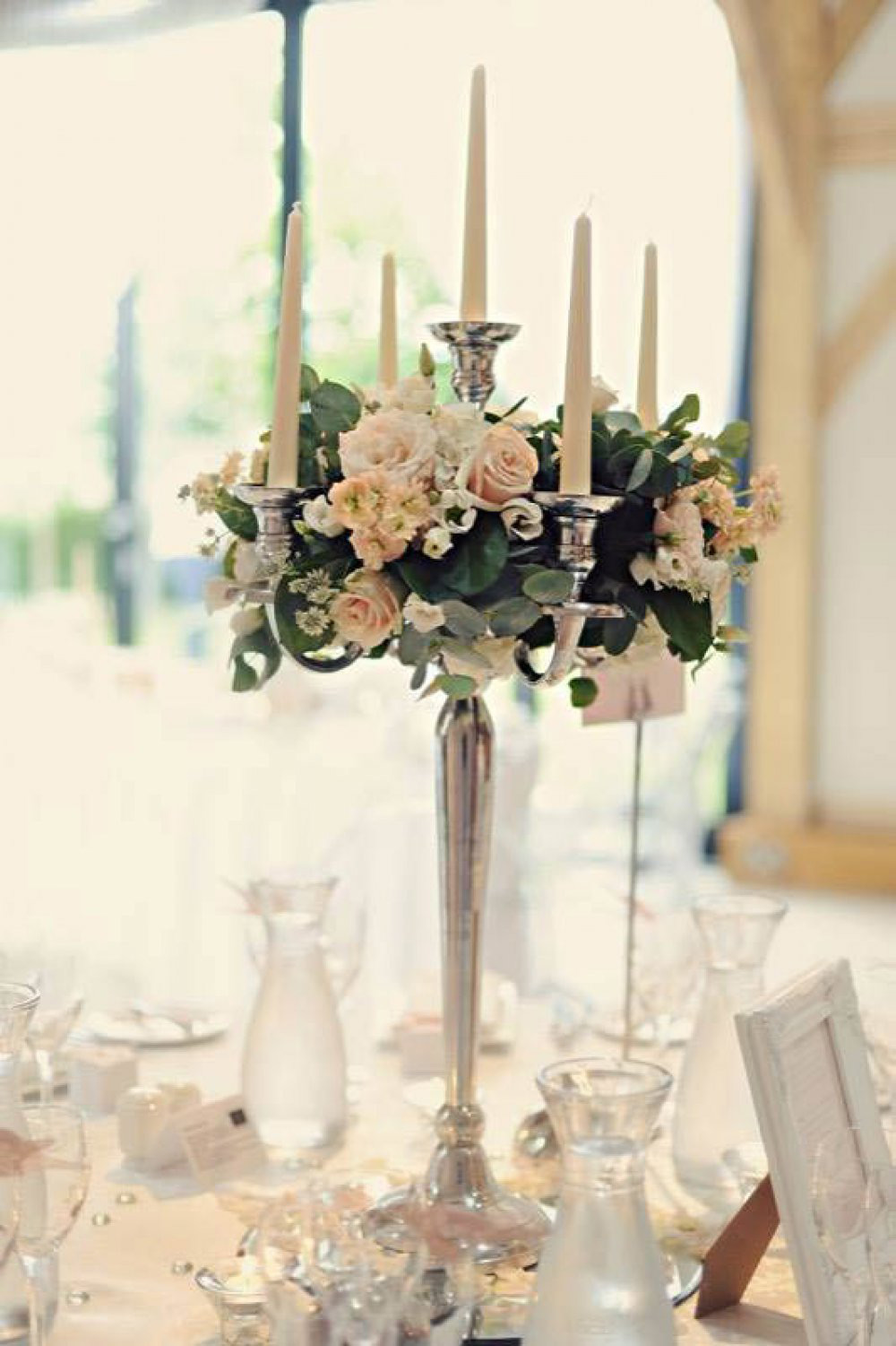 Stunning table centres