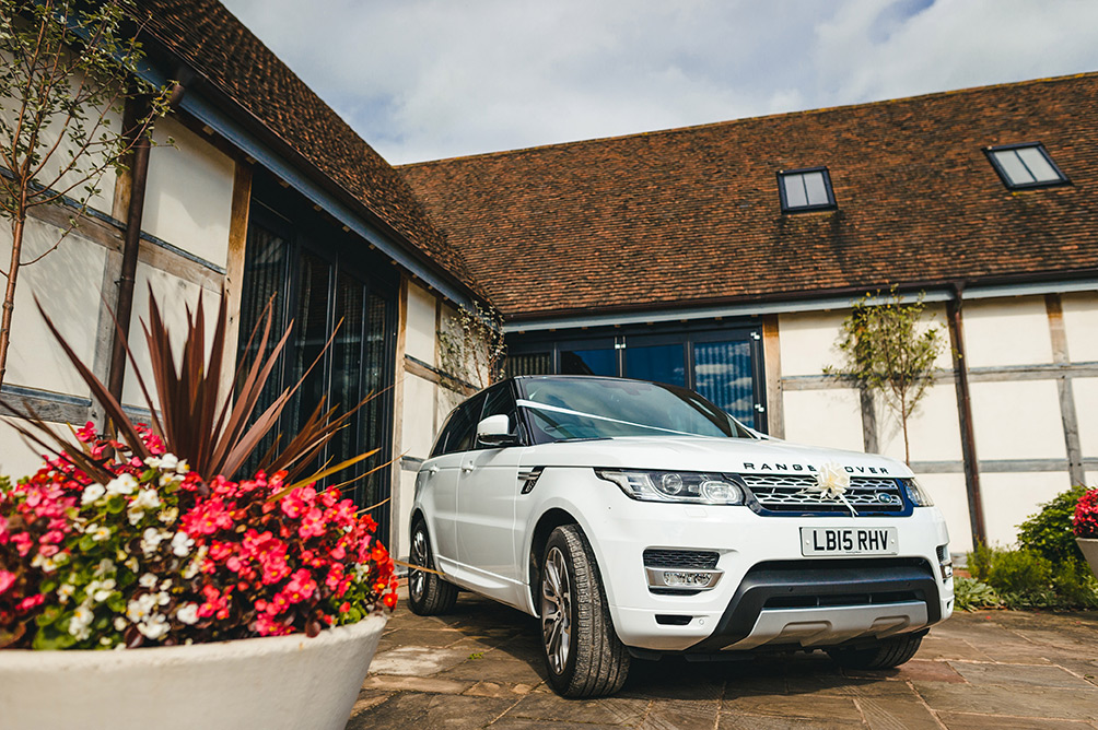 Our new White Range Rover Sport