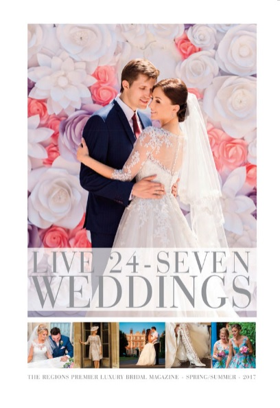 Live 24/7 Weddings Magazine feature