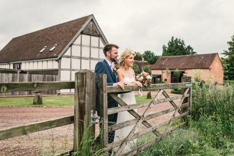 Michelle and Guy's Rustic & Relaxed Barn Wedding with Clay Pigeon Shooting
